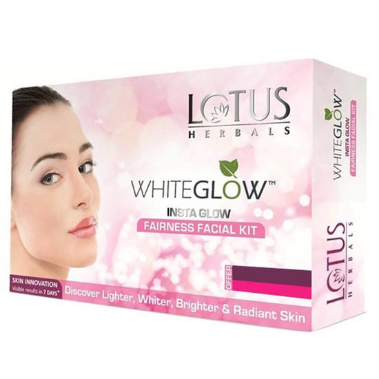 Lotus White Glow Insta Glow Fairness Single Facial Kit