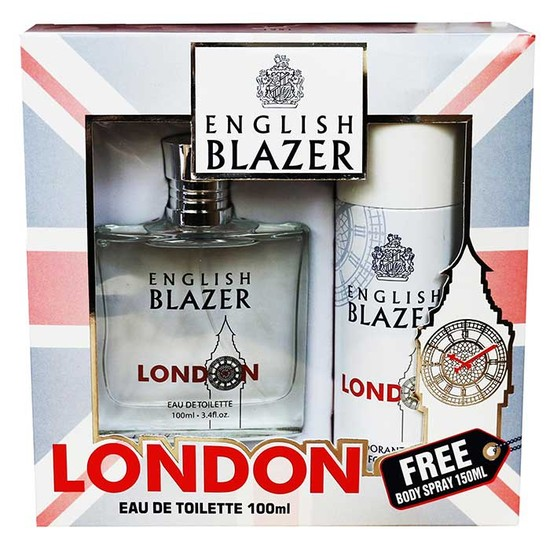 English Blazer London Gift Set For Men (100 Ml + 150 Ml)