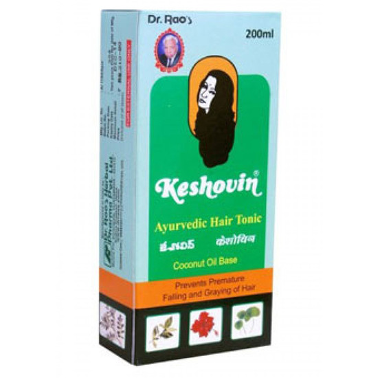 Dr.Rao's Keshovin (Herbal Hair Tonic)(200 Ml)