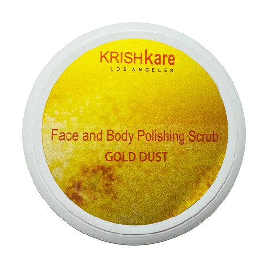 Krishkare Body Scrub Radiant Glow (500 G)