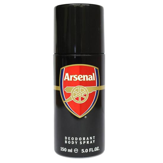 Arsenal Black Deodorant Body Spray For Men (150 Ml)