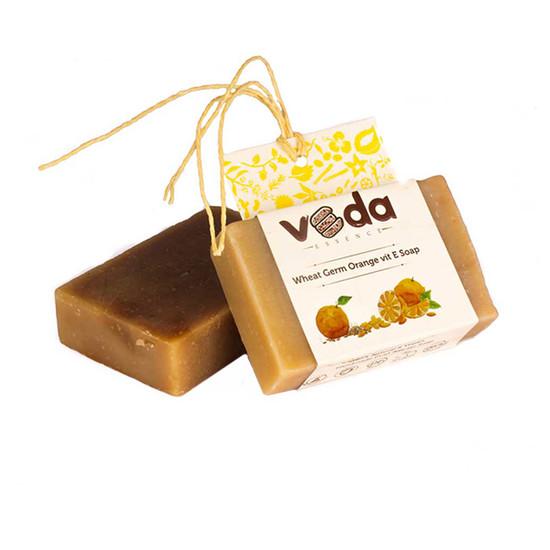 Veda Essence Wheat Germ Orange Vit E Soap (125 G)