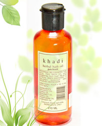 Khadi Bath Oil With Patchouli (210 Ml)