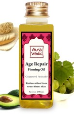 Auravedic Face Care Age Repair Facial Oil With Avacado And Rose (100 ml)