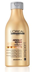 L'Oreal Professionnel Serie Expert Absolut Repair Cellular Repairing Shampoo for Very Damaged Hair (250 ml)