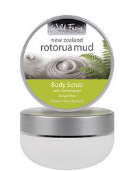 Wild Ferns Rotorua Mud Body Scrub With Lemongrass (250 Ml)