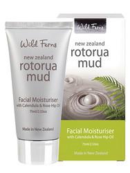 Wild Ferns Rotorua Mud Facial Moisturiser With Calendula & Rose Hip (75 Ml)