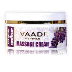 Vaadi Herbals Lavender Anti-Ageing Massage Cream (50 g)