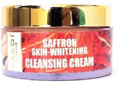 Vaadi Herbals Saffron Skin-Whitening Cleansing Cream (50 G)