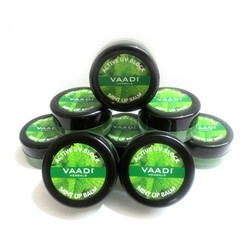 Vaadi Herbals  Lip Balm Mint Super Value Pack Of 8  (6 + 2 Free) (10 G X 8)