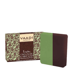 Vaadi Herbals Tempting Chocolate & Mint Soap-Deep Moisturising Therapy (75 g)