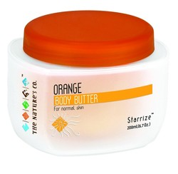 The Natures Co. Orange Body Butter (200 Ml)