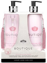 Grace Cole Boutique Wild Fig & Pink Cedar Hand Wash & Hand Nail Cream Luxury Hand Care Duo