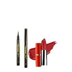 Maybelline The Colossal Liner (1.2 g) + FREE Maybelline Color Sensational Lip Color Coral Pink CB41 (4 g)