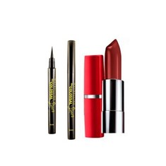 Maybelline The Colossal Liner + Free Maybelline Color Show Moisture Extreme Pure Passion 926