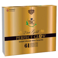 TBC By Proveda Perfect Glow 24 Ct Gold Perfect Glow Instant Glow Bleach Cream (35 G)