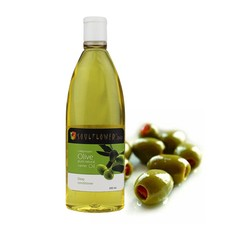 Soulflower Cold Pressed Olive Carrier Oil (200 Ml) (Pack Of 2)