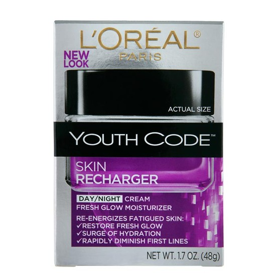 L'Oreal Youth Code Skin Recharger Day/Night Cream (48 G)